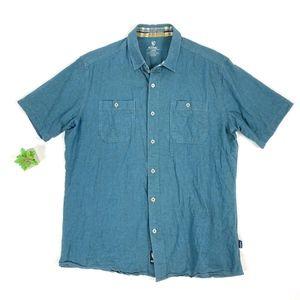 KUHL Icelandr S/S Linen Casual Button-Down Shirt